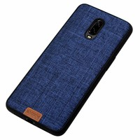 OnePlus 6T Case Fabric Blue