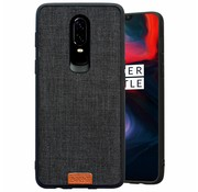 Noziroh OnePlus 6 Case Fabric Black