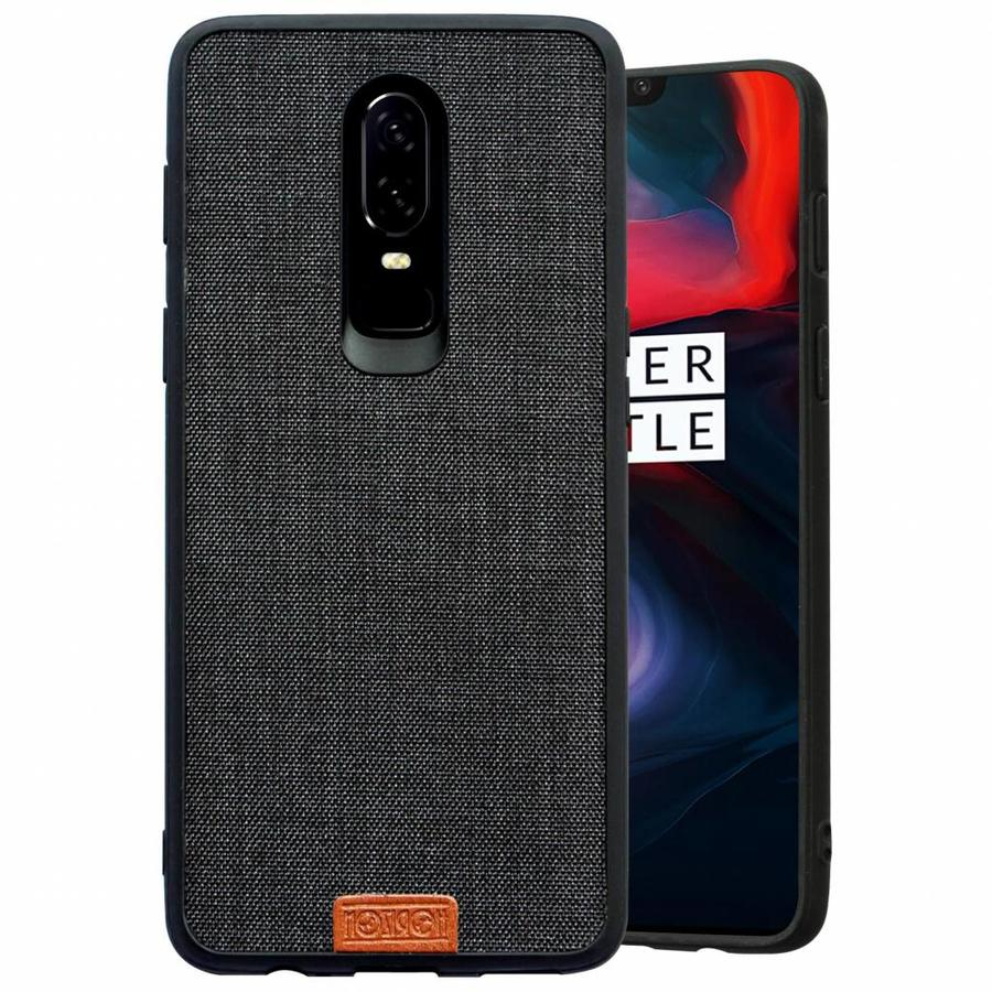 OnePlus 6 Case Fabric Black