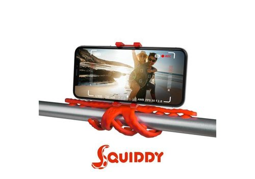 Celly OnePlus SQUIDDY Flexibele Houder Rood
