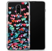 OPPRO OnePlus 6T Hearts Hülle