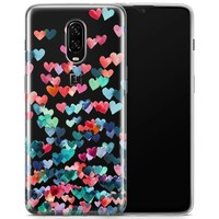 OnePlus 6T Case Hearts