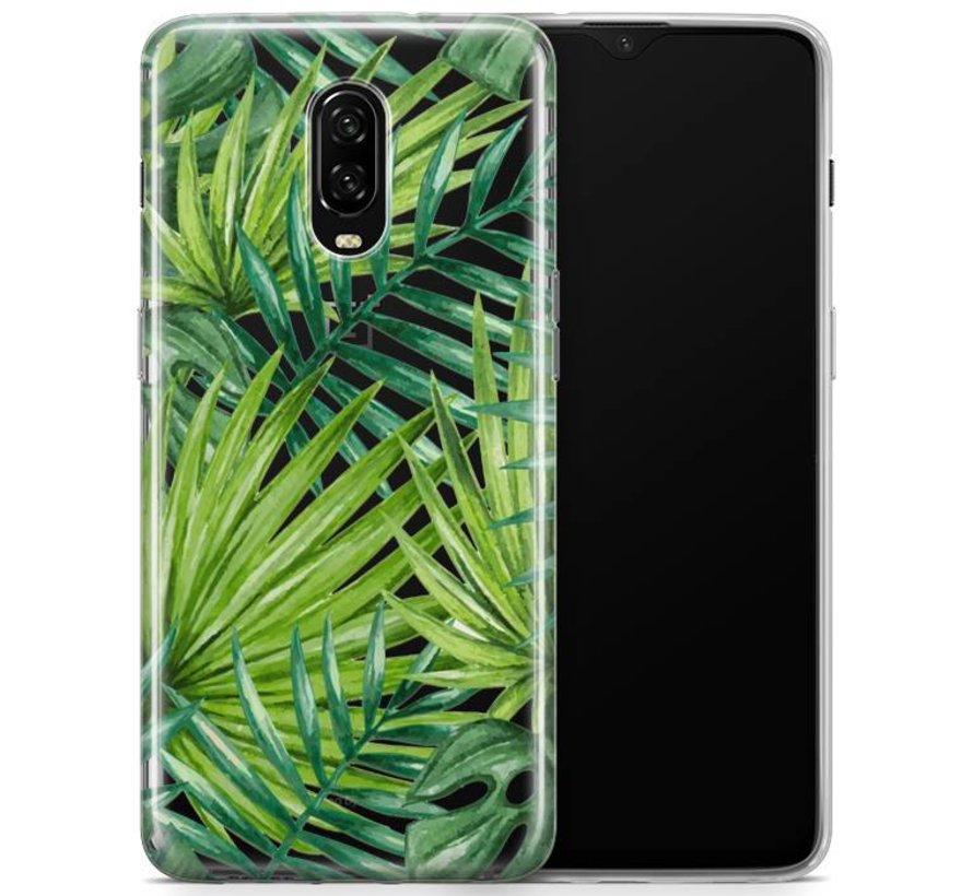 OnePlus 6T Hülle Palm Leaves