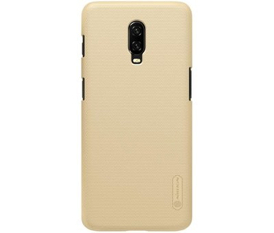 Nillkin OnePlus 6T Frosted Shield Gold Gehäuse