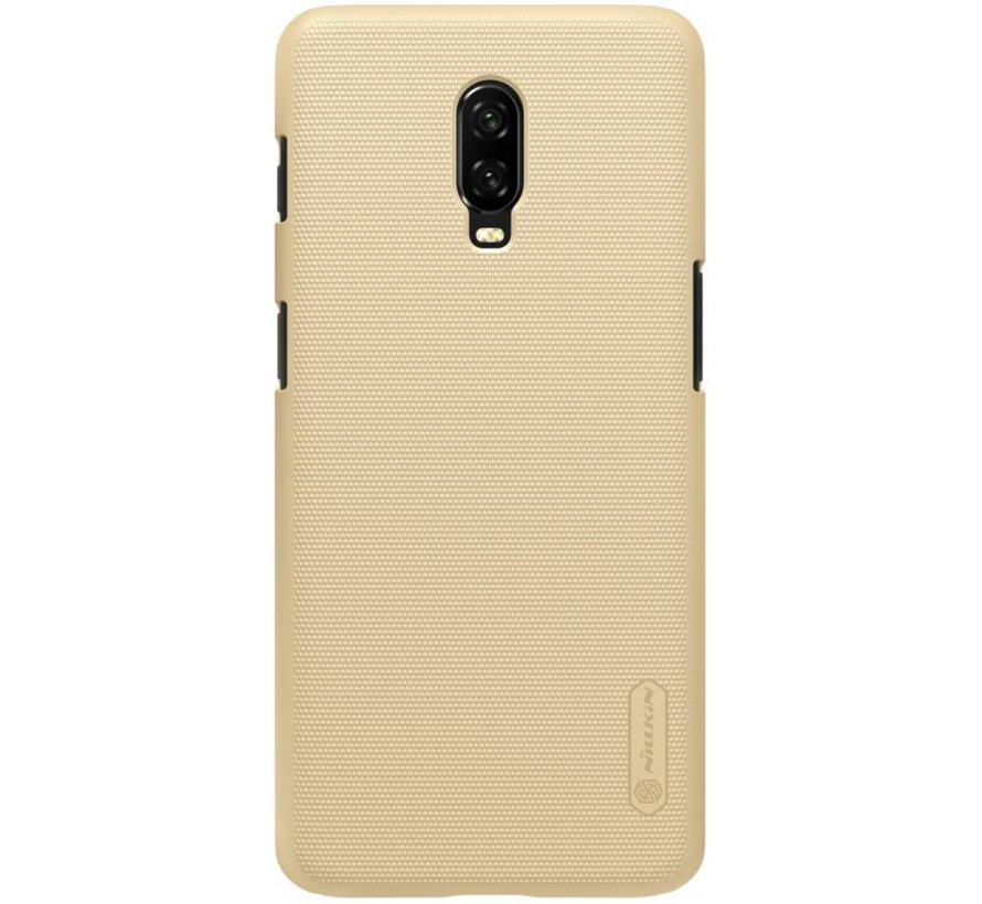 OnePlus 6T Frosted Shield Gold Gehäuse