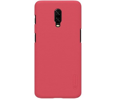 Nillkin OnePlus 6T Case Frosted Shield Red