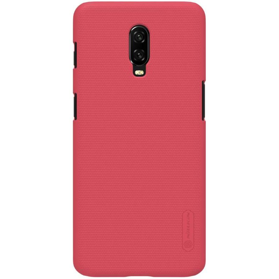 Nillkin OnePlus 6T Case Frosted Shield Red -