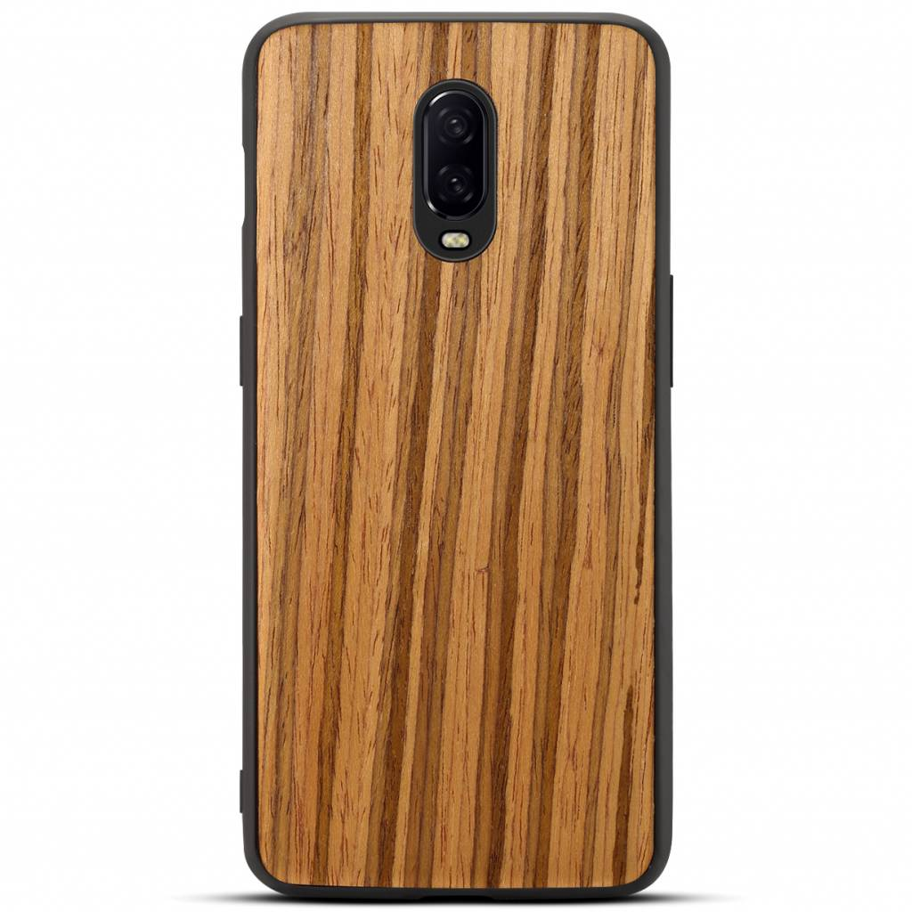 100% authentic 7c46a 3fca9 OPPRO OnePlus 6T Case Zebra Wood