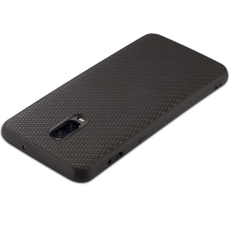 OnePlus 6T Hoesje Carbon Fiber