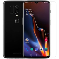 OPPRO OnePlus 6T Hoesje Carbon Structuur Blauw