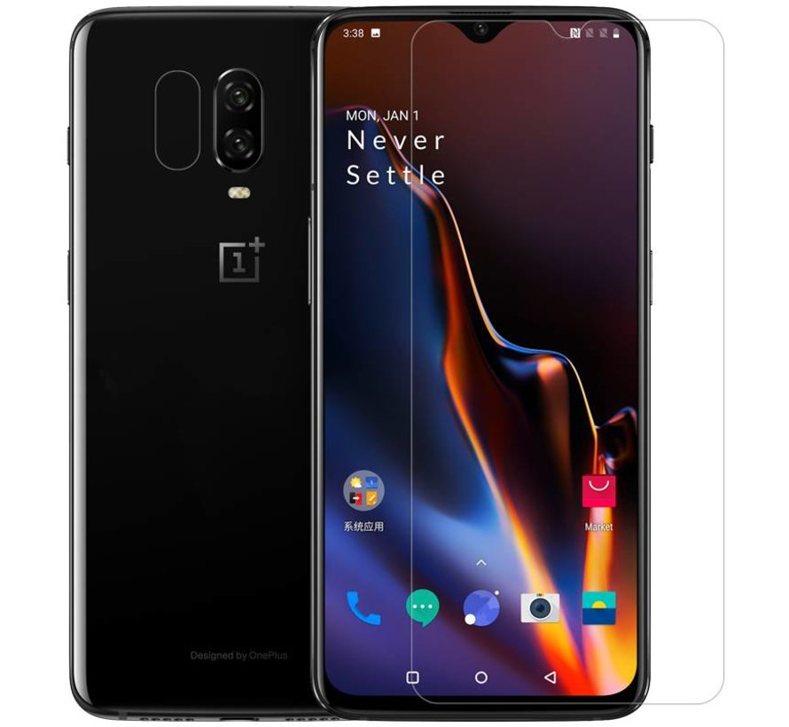 OnePlus 6T / 7 Glas Screen Protector 9H +Pro