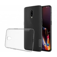 OnePlus 6T Case TPU Gray Transparent