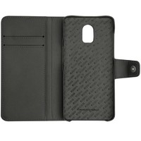 OnePlus 6T Leather Wallet Case Brown
