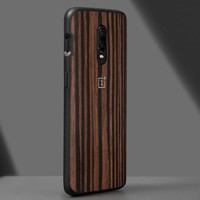 6T Bumper Case Ebony Wood