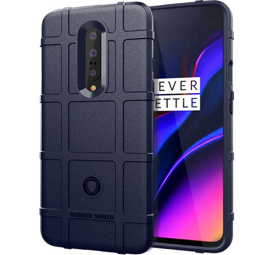OnePlus 7 Pro Case Pro Rugged Shield Blue