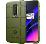 OPPRO OnePlus 7 Pro Hoesje Pro Rugged Shield Groen