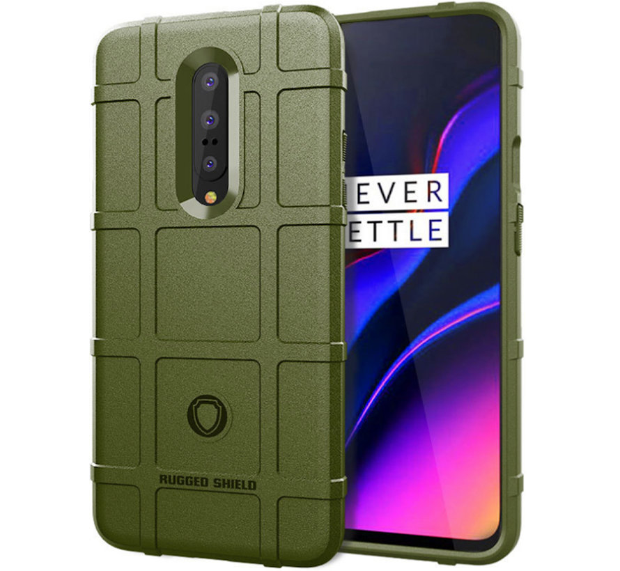 OnePlus 7 Pro Case Pro Rugged Shield Green