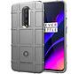 OnePlus 7 Pro Case Pro Robustes Schild Silber