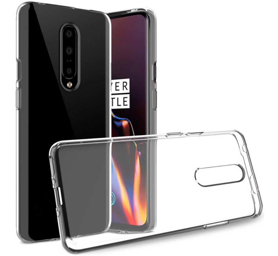 OnePlus 7 Pro TPU Hoesje Transparant