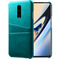OnePlus 7 Pro Case Slim Leather Card Holder Sea Green