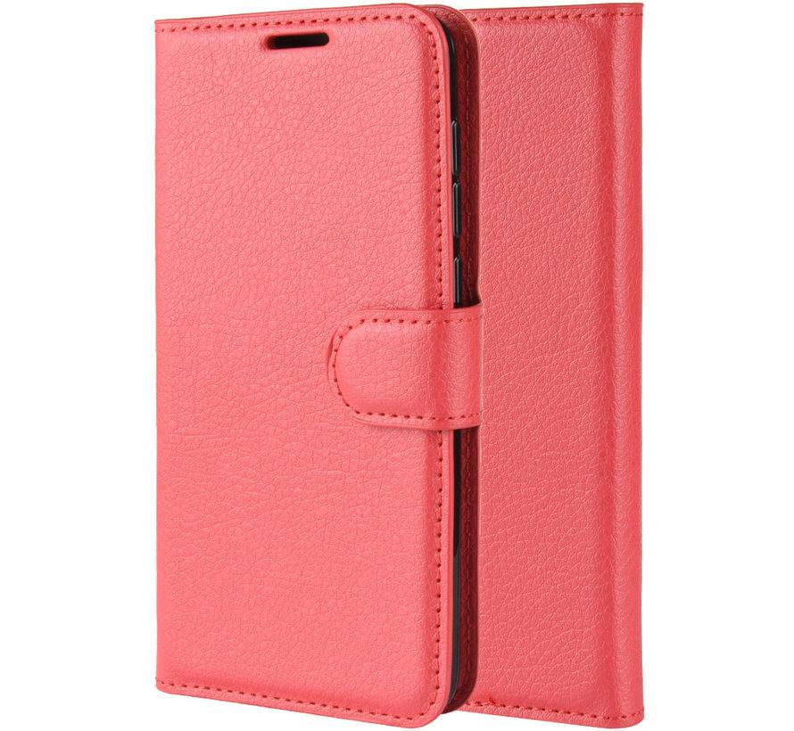 OnePlus 7 Pro Wallet Flip Case Red