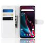 OnePlus 7 Pro Hoesje Wallet Flip Case Wit