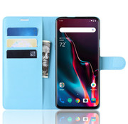 OPPRO OnePlus 7 Pro Wallet Flip Case Blue