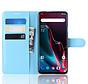 OnePlus 7 Pro Hoesje Wallet Flip Case Blauw