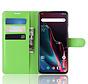 OnePlus 7 Pro Wallet Flip Case Green