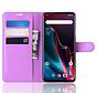OnePlus 7 Pro Hoesje Wallet Flip Case Paars