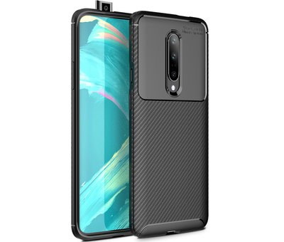 OPPRO OnePlus 7 Pro Case Carbon Structure Black