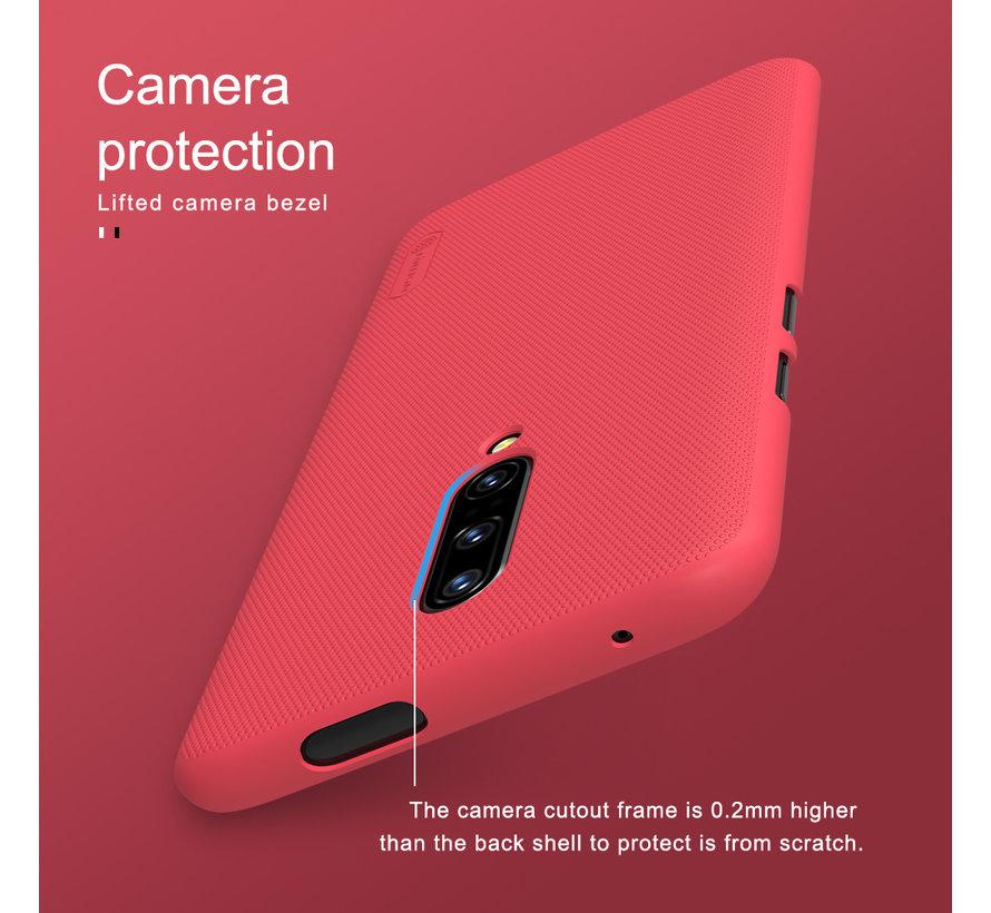 OnePlus 7 Pro Hoesje Frosted Shield Zwart