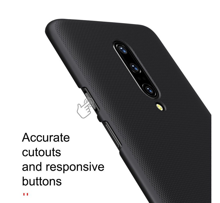 OnePlus 7 Pro Frosted Shield Black Case