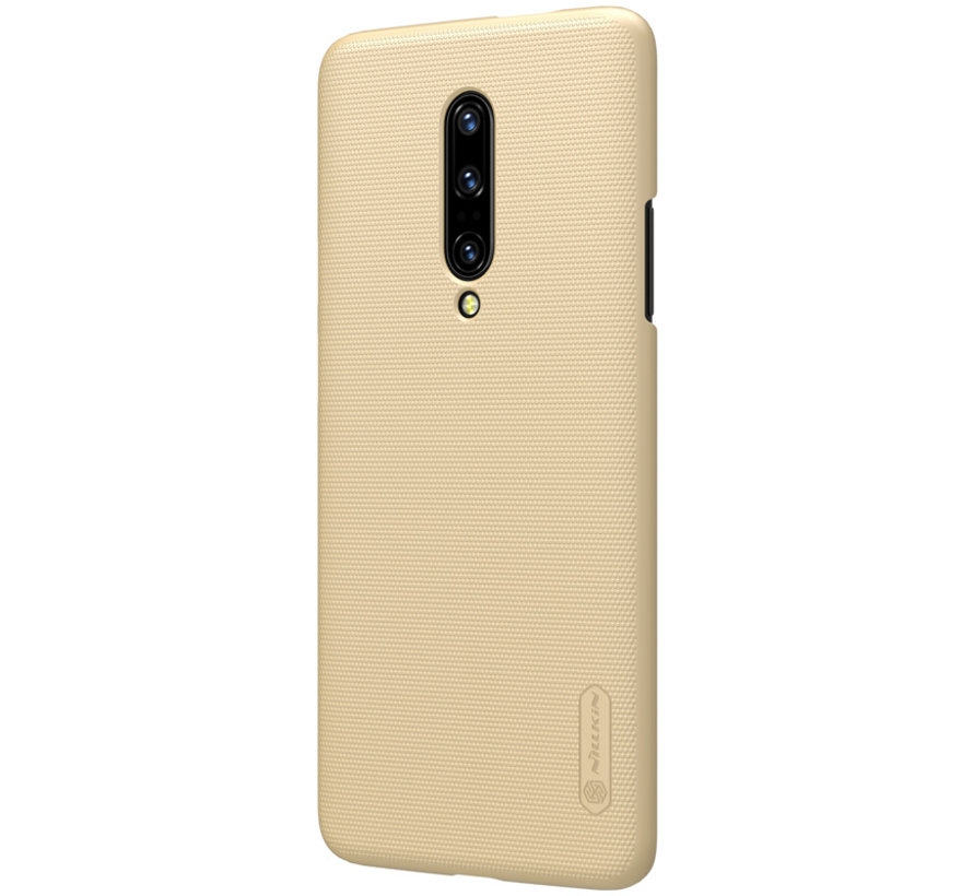 OnePlus 7 Pro Frosted Shield Gold Gehäuse