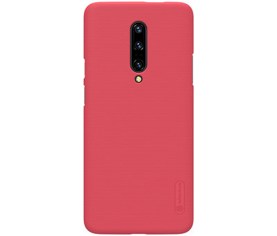 Nillkin OnePlus 7 Pro Frosted Shield Red Case