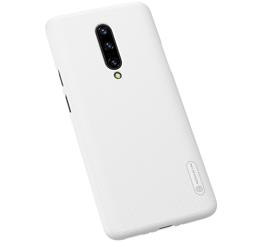OnePlus 7 Pro Case Frosted Shield Weiß