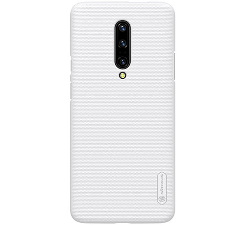 Nillkin OnePlus 7 Pro Hoesje Frosted Shield Wit