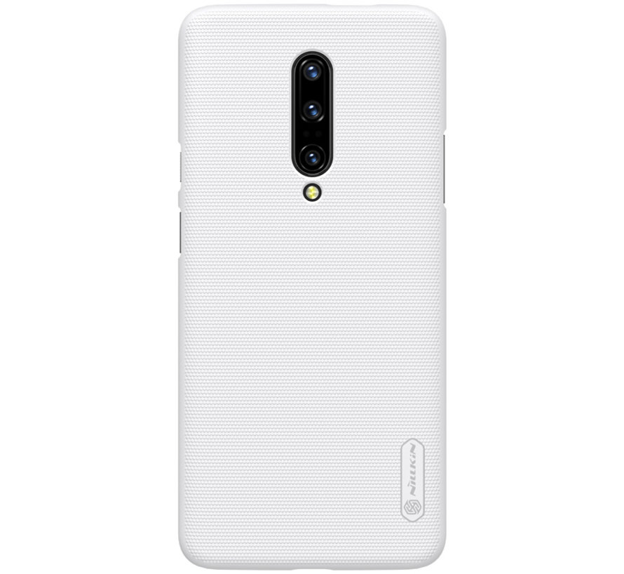 OnePlus 7 Pro Hoesje Frosted Shield Wit