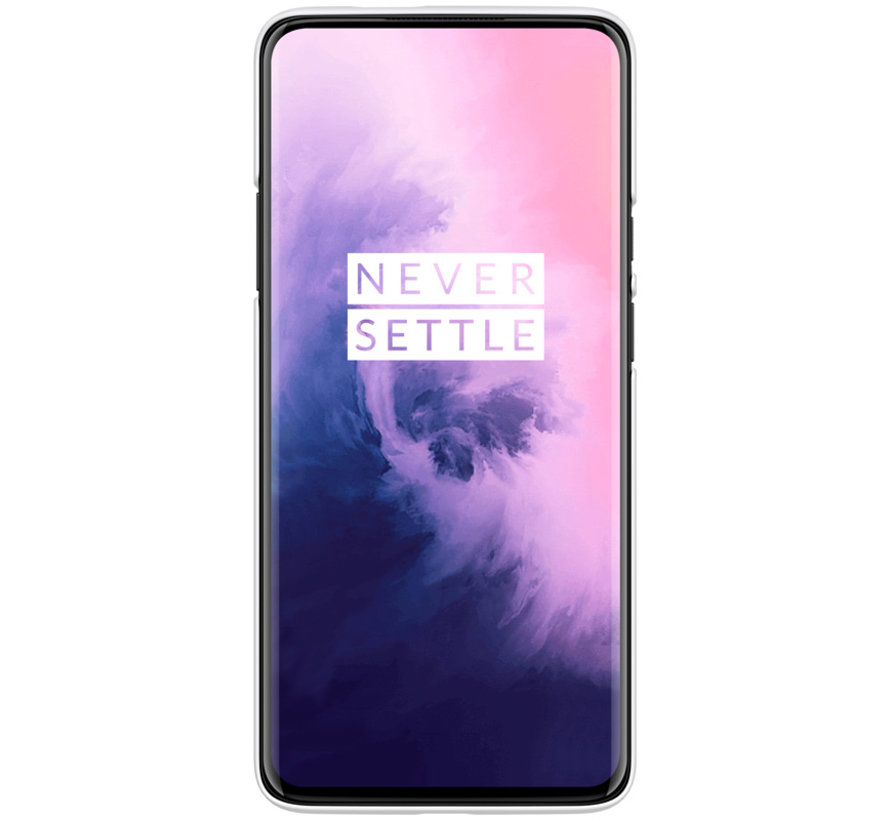 OnePlus 7 Pro Case Frosted Shield White