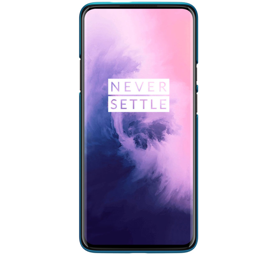 OnePlus 7 Pro Frosted Shield Blue Case