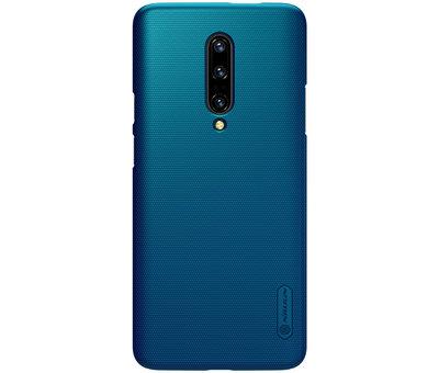 Nillkin OnePlus 7 Pro Hoesje Frosted Shield Blauw
