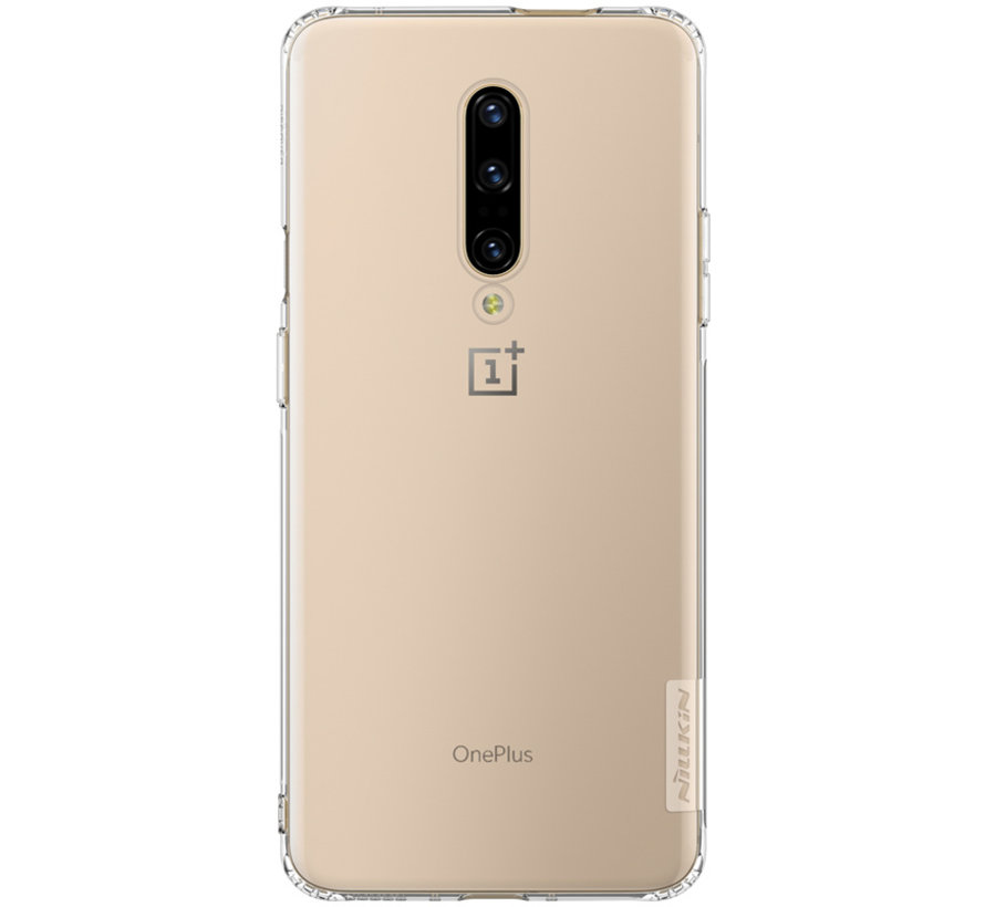OnePlus 7 Pro Hoesje TPU Nature Transparant