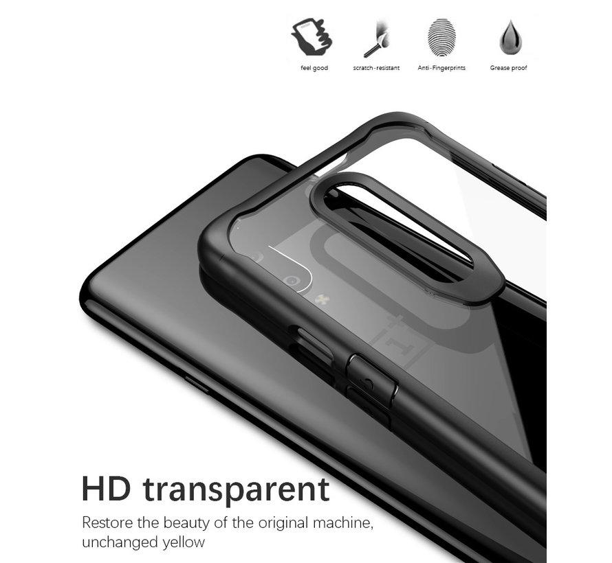 OnePlus 7 Pro Hybrid Bumper Case Red