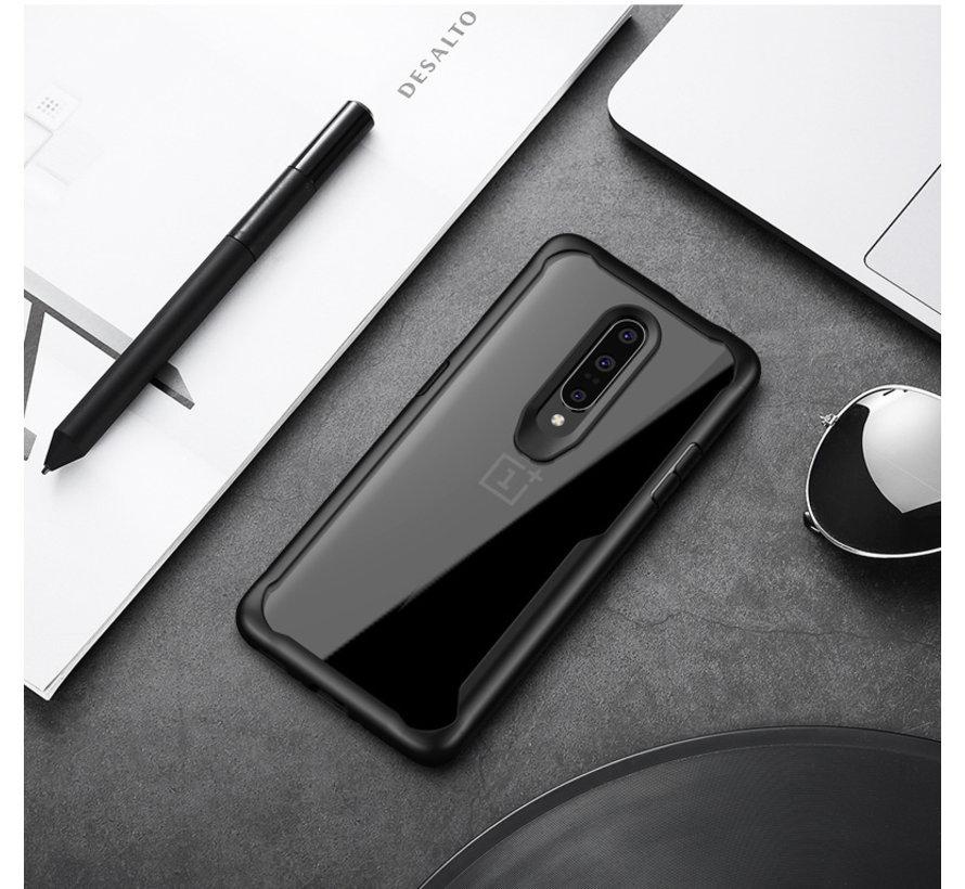 OnePlus 7 Pro Hoesje Hybrid Bumper Rood