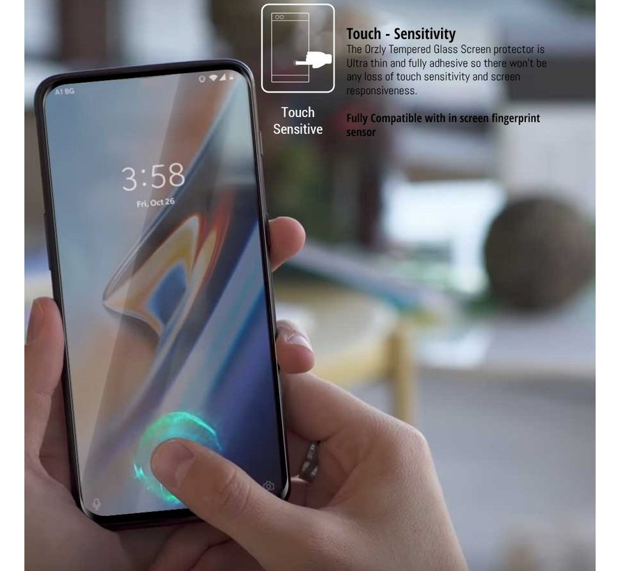 OnePlus 7 Pro Screen Protector 3D Tempered Glass 2-Pack