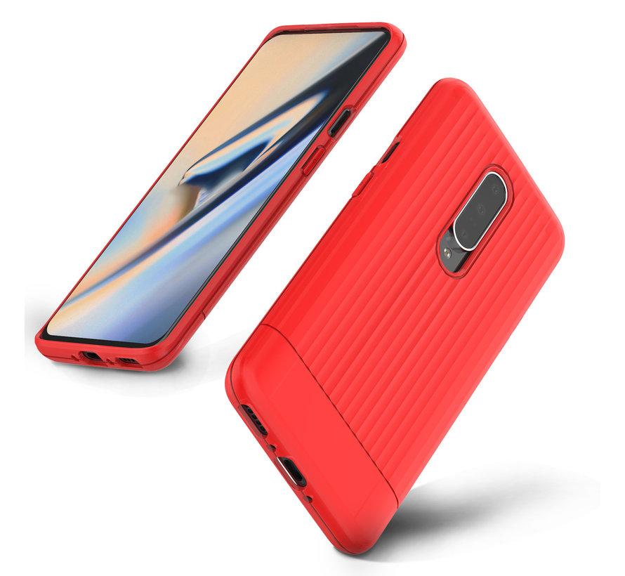 OnePlus 7 Pro Case Rimo Schutzhülle Rot