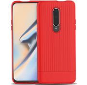 OPPRO OnePlus 7 Pro Hoesje Rimo Case Rood