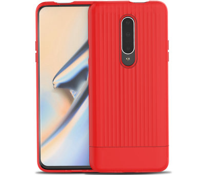 OPPRO OnePlus 7 Pro Case Rimo Schutzhülle Rot
