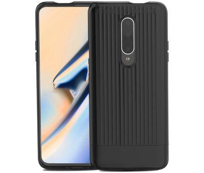 OPPRO OnePlus 7 Pro Hoesje Rimo Case Zwart