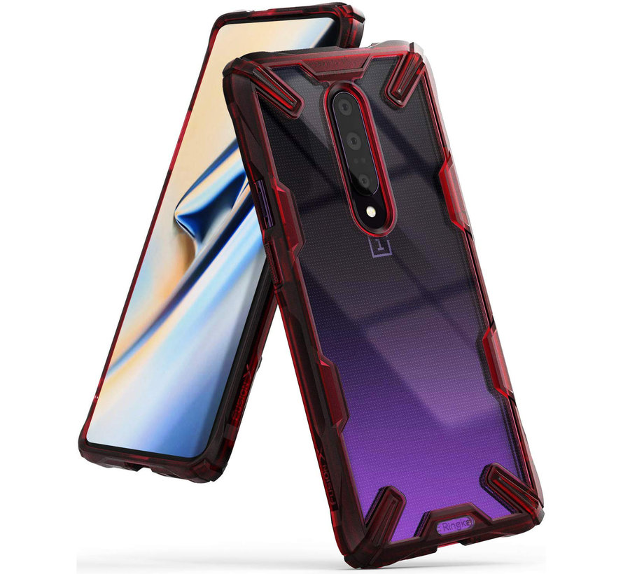 OnePlus 7 Pro Hoesje Fusion X Rood